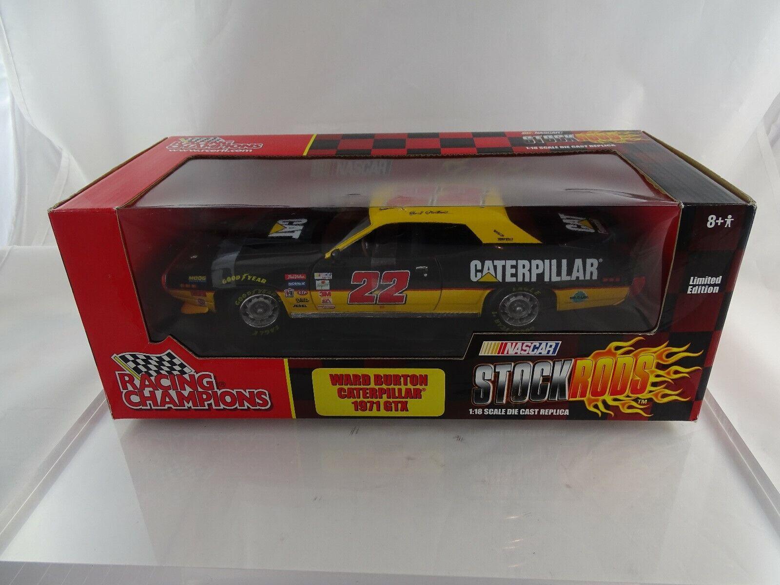 1 18 ERTL GTX Ward Burton Caterpillar Limited Edition NEW OVP