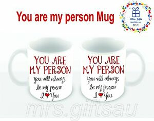 You Are My Person Mug Valentines Day Gifts Ideas Best Friend