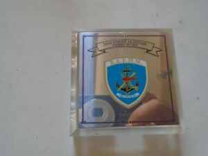 EXTRA-RARE-GREEK-ARMY-MILITARY-NAVY-paper-weight-plexi-glass-amazing