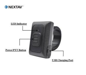 NEW-NEXTAV-Wireless-ZelloWork-Zello-PTT-Button-for-iPhone-iOS-Android-BLE-Strap