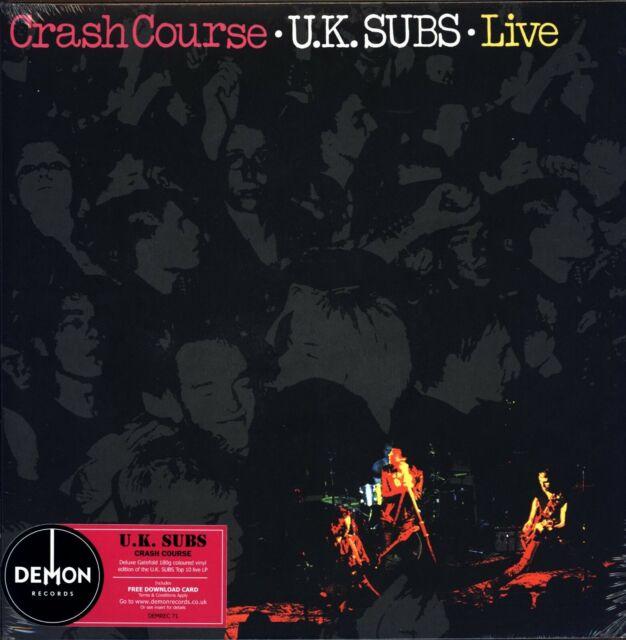 Uk Subs Crash Course Live 180gm Red Vinyl Lp Download 2015