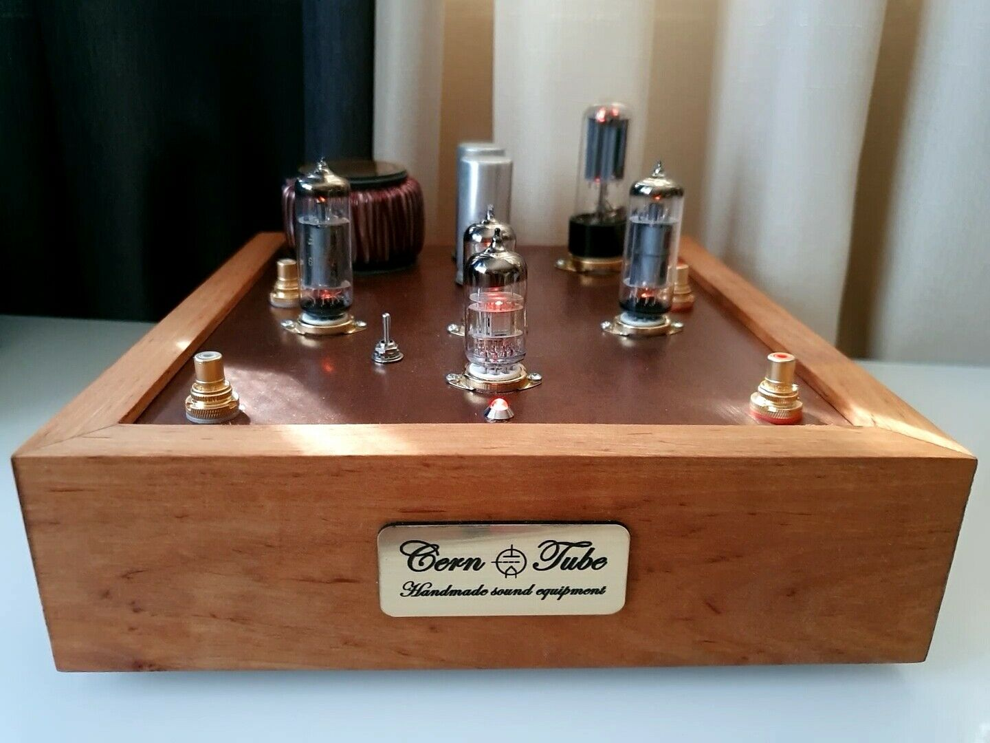 Tube Lamp Phono Stereo Preamplifier