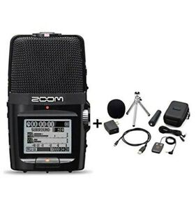 ZOOM-H2n-Handy-Portable-Recorder-PCM-Accessoary-Kit-APH-2n-from-JAPAN-New
