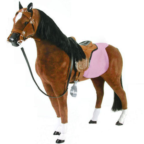 Pferd für 46-50cm Steh-Puppe, neu, 2743, Sophia´s®