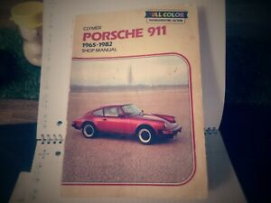 Porsche-911-Workshop-Manual-1965-1982-by-Clymer-good-condition-with-all-pages