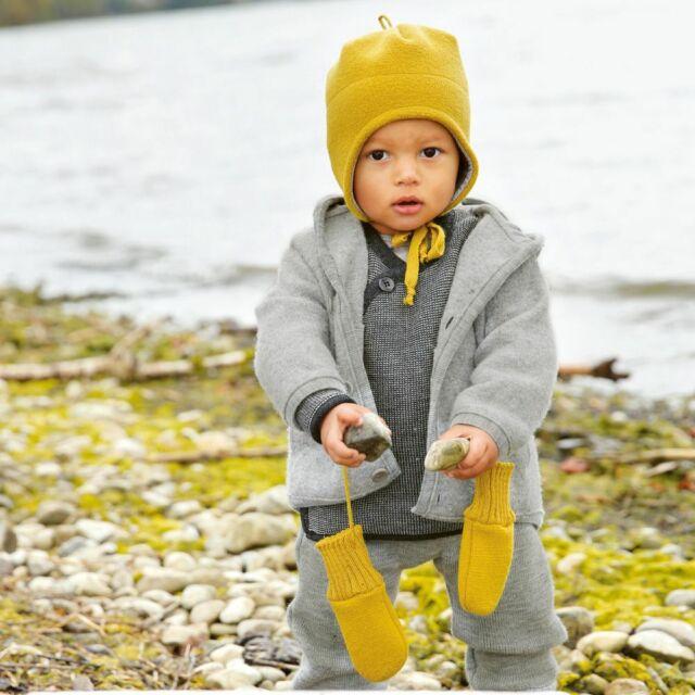Disana Knitted Baby Dungarees in Organic Merino Wool Navy 86//92 12-24m