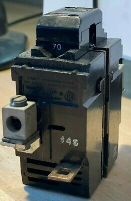 WARRANTY ITE P240 40 Amp 2 Pole 240 Volt Pushmatic Circuit Breaker