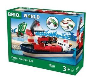 33061 Brio Cargo Harbour Set  Wooden Railway
