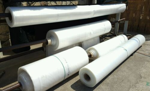 Towel Greenhouse Polyethylene Mixed 0,15mm for transparent covers 5 M
