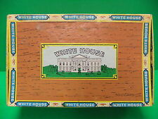 White House Perfecto Sweets Vintage Cigar Box 6 Cents 50 count box Tobacco RARE