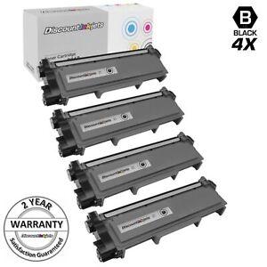 4PK-Black-TN660-High-Yield-BLACK-Toner-for-Brother-HL-L2300D-MFC-L2700-DCP-L2520