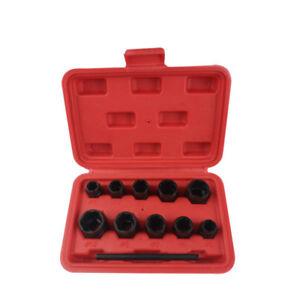 11Pc-Damaged-Nut-Bolt-Remover-Stud-Extractor-Set-9-19mm-Broken-Bolt-Removal-Tool