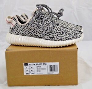 online retailer 1fc81 6ac52 Details about Adidas YEEZY BOOST TURTLE DOVE SIZE 5 AQ4832 KANEY WEST