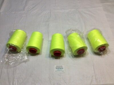 LOT OF 4 A/&E 6000 YARD CONES PIGEON SEWING THREAD TEX 40 12418W