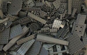100 LIGHT GREY GRAY LEGO PIECES FROM HUGE BULK LOT BRICKS PARTS STAR WARS RANDOM