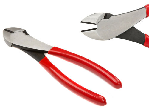 """7/"""" Diagonal Cutting Pliers High Leverage Wire Side Cutter Nippers Top Quality"""