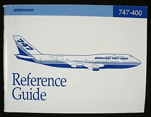 boeing 747 400 reference guide june 1992 book ebay rh ebay com Technical Schools Guide Technical Assistance Guide