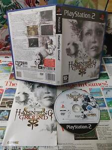 Playstation-2-PS2-Haunting-Ground-TOP-CAPCOM-amp-1ERE-EDITION-COMPLET-Fr