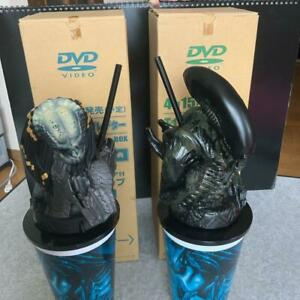 Alien-Vs-Predator-Avp-Theater-2cups-w-Topper-Figures-set-promo-Japan-EX-2004