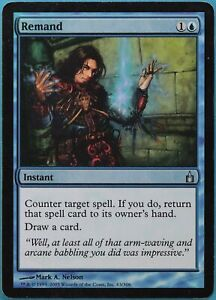 Remand FOIL Ravnica: City of Guilds HEAVILY PLD Uncommon CARD (216080) ABUGames