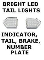 2 x LED DIRECTIONAL  ARROW 4 Function Rear Lamp trailer board & trailer light