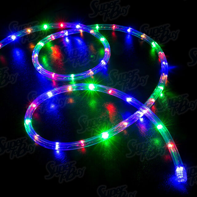 LED Rope Lights 10' 25' 50' 100' 150' feet 2 Wire Accent Lighting Christmas