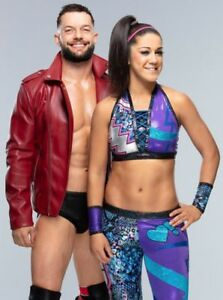 Details about Bayley & Finn Balor 4x6 8x10 Mixed Match PHOTO (Select Size)  WWE #038