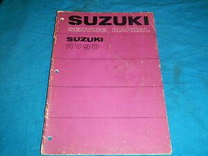 1973 73 1974 1975 1976 1977 77 SUZUKI RV90 RV 90 SHOP SERVICE REPAIR MANUAL
