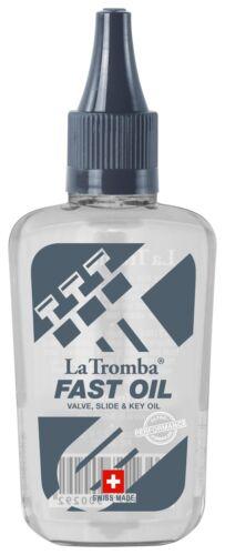 High Performance Ventil-Öl von La Tromba für alle gängigen Blechblasinstrumente