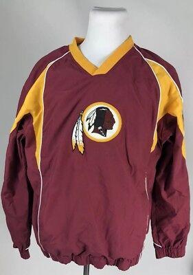 ecaf38d6 Washington Redskins VINTAGE NFL Team Apparel Pullover Jacket Great  Condition XL | eBay