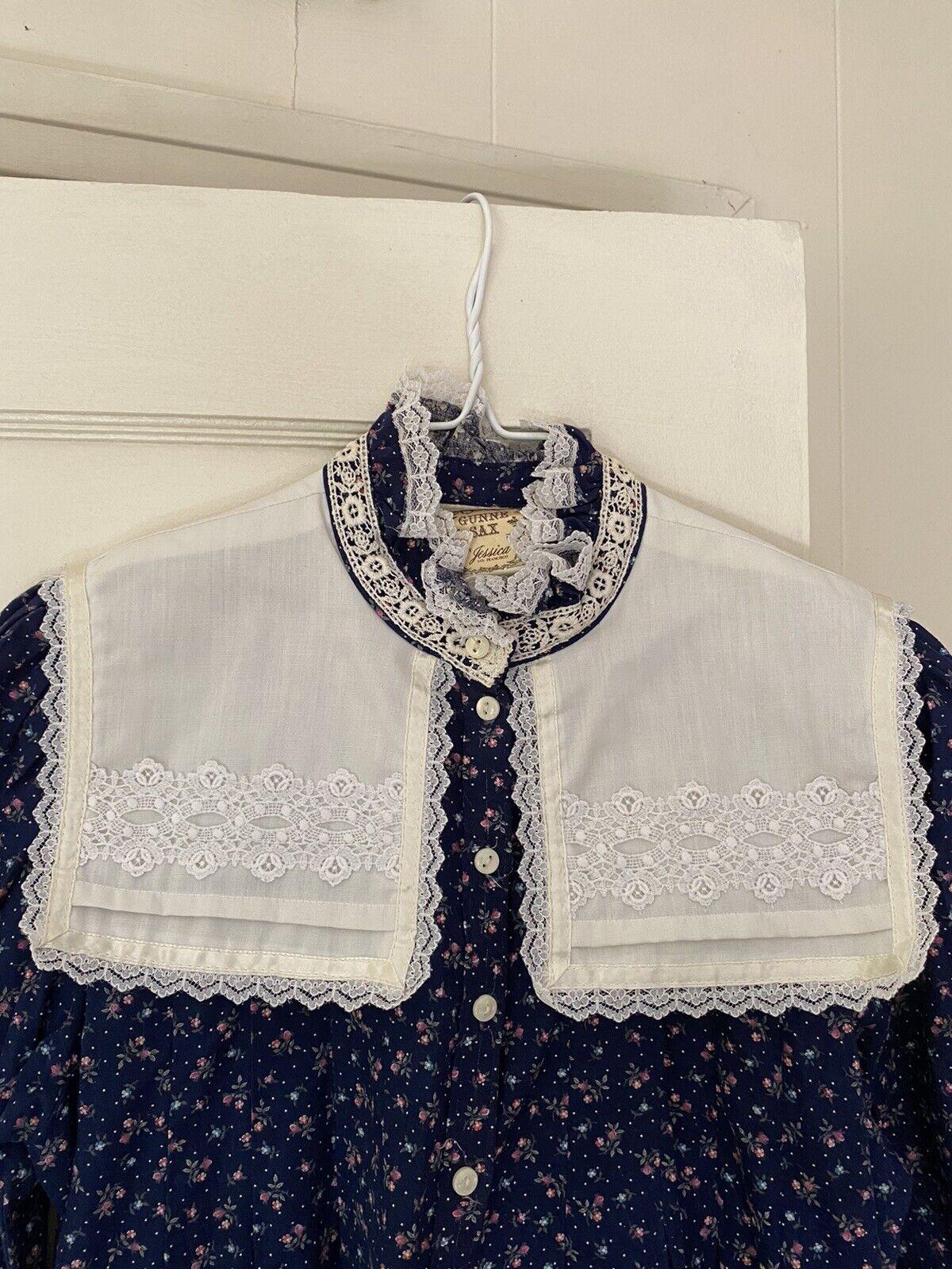 vintage gunne sax prairie dress (size 9) - image 3