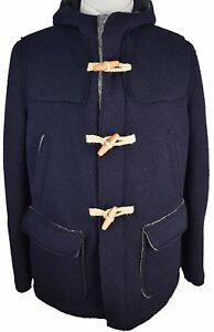 Z224-NEW-BLOOMINGDALES-Navy-Blue-Winter-Coat-Size-42