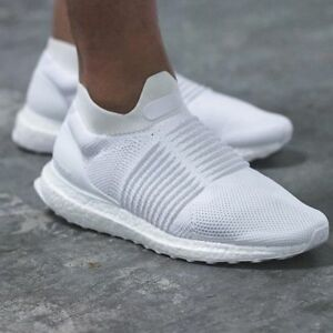 8aa1bb0562d Image is loading Authentic-Adidas-Triple-White-Ultra-Boost-Laceless-S80768-