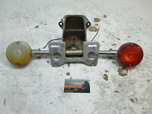 Honda 1981 CB750 CB 750 9/28  REAR TURN SIGNALS WITH BRAKE LIGHT MOUNT