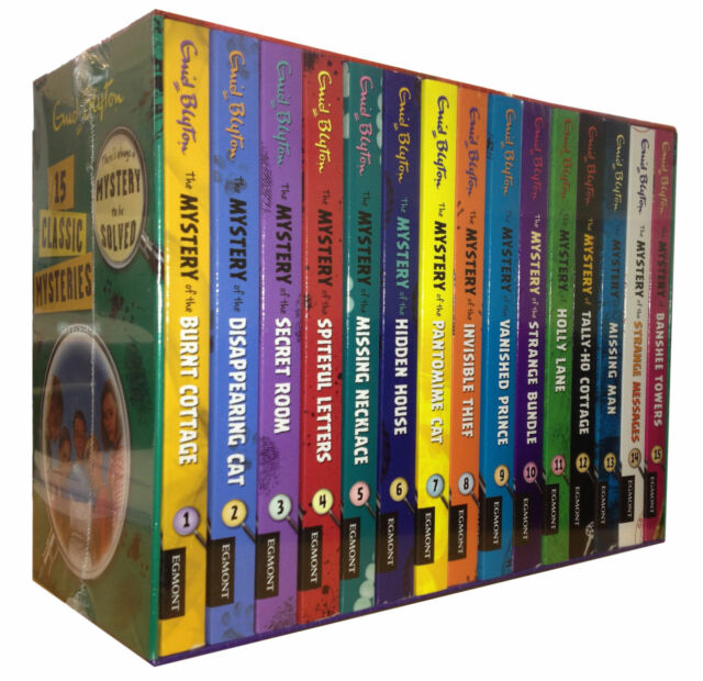 Enid Blyton Classic Mystery Stories 15 Books Box Set Collection Mysteries Series