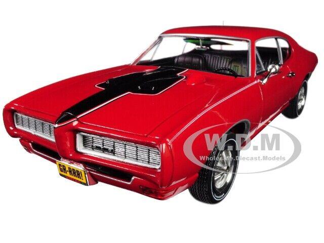 orden ahora disfrutar de gran descuento 1968 Pontiac Gto Rojo Rojo Rojo  clase Royal Bobcat de  edición limitada de 68  1 18 Autoworld AMM1153  tienda hace compras y ventas
