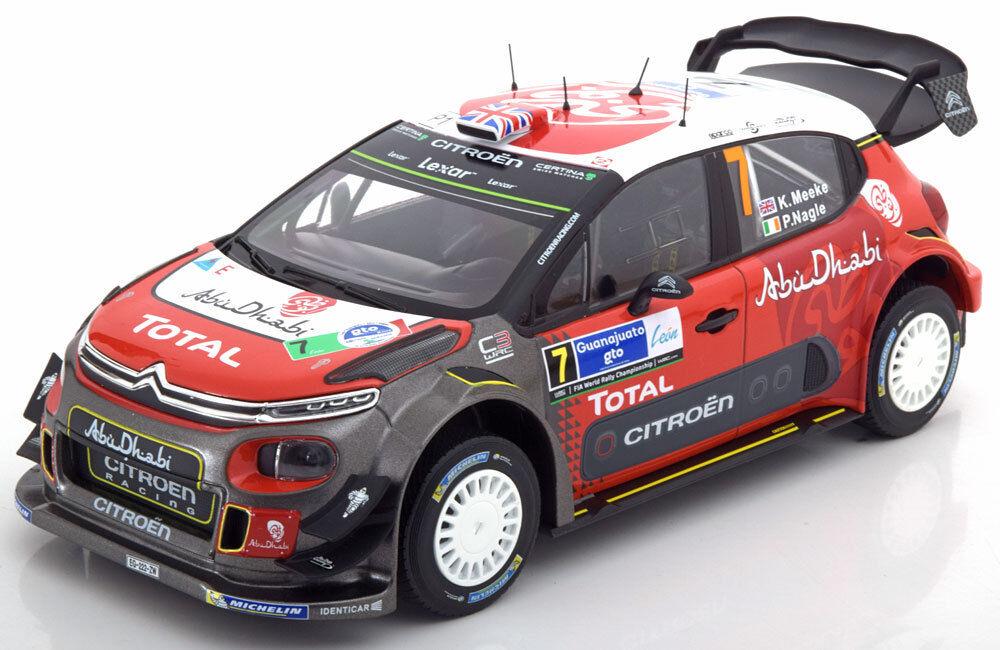 Norev Citroen C3 WRC Ganador Rally Mexico 2017 Meeke   Nagle  18