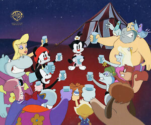 Animaniacs- Entire Cast, 16 Characters-Original Production Cel