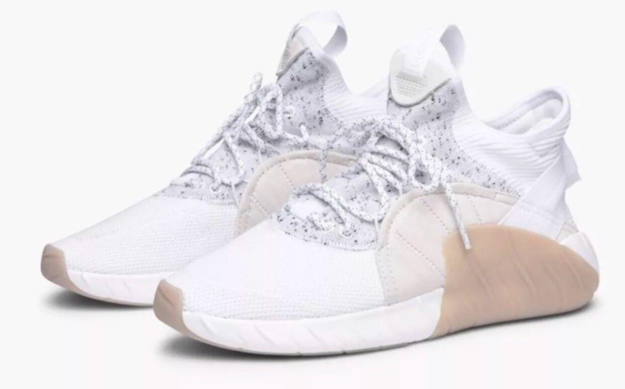 Adidas Original Tubular Rise White Men's Sneakers Lifestyle sz BY3555 Sz 10