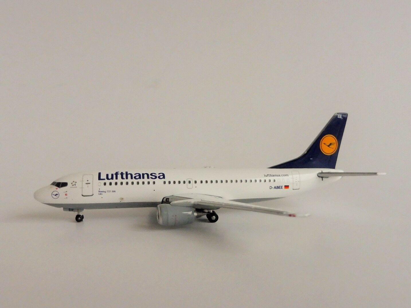 Lufthansa Ulm Boeing 737-300 1 400 Gemini Jets GJDLH 1326 737 B733 GeminiJets