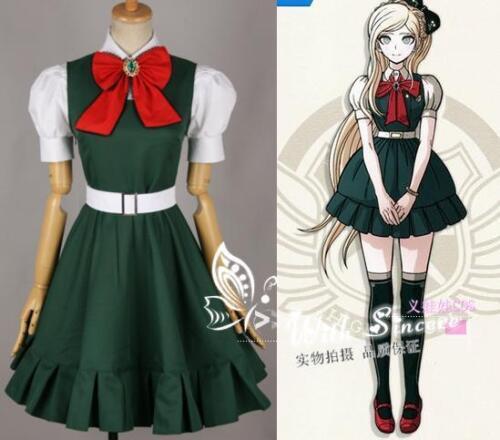 Danganronpa Dangan-Ronpa Sonia Neiwamande Cute Dress Cosplay Costume