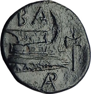 DEMETRIOS-I-Poliorketes-298BC-Authentic-Ancient-Greek-Coin-Athena-Galley-i65107