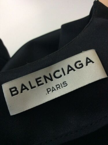Balenciaga 8 lunghe 36 Top Vgc Black Maniche Stain Size Uk rBYOxrRqw