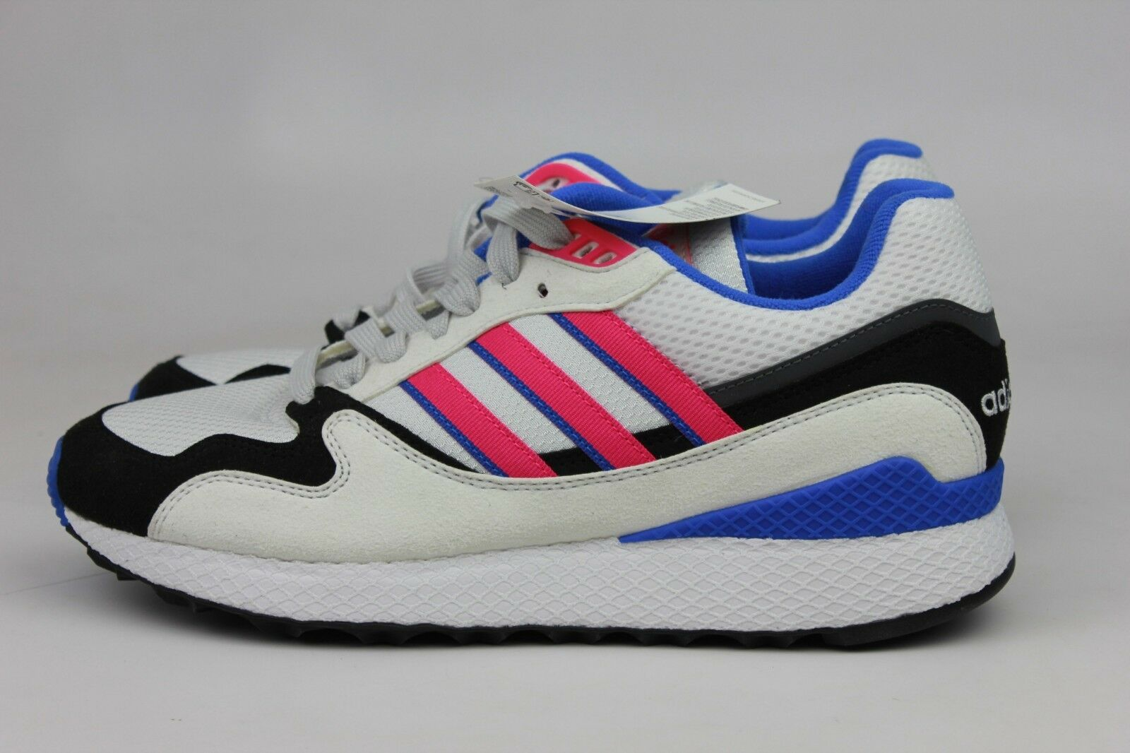 ADIDAS ORIGINALS ULTRA TECH WHITE SHOCK PINK BLACK MEN AQ1190 NEW NIB NWT
