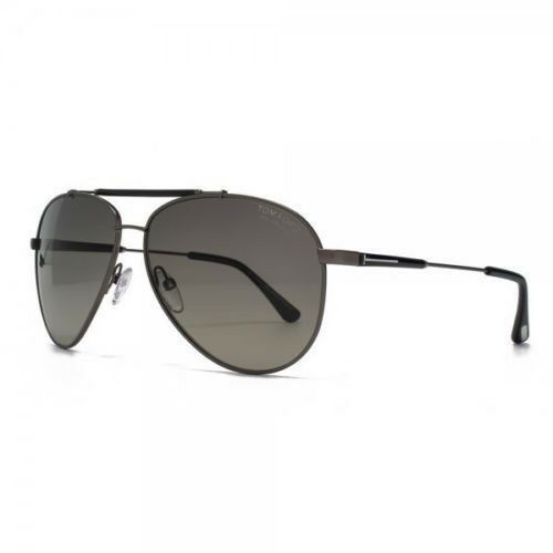 e7e84adda5977 Tom Ford Sunglasses Men Aviator Polarized TF 378 Gunmetal 10d Rick Tf378  62mm for sale online