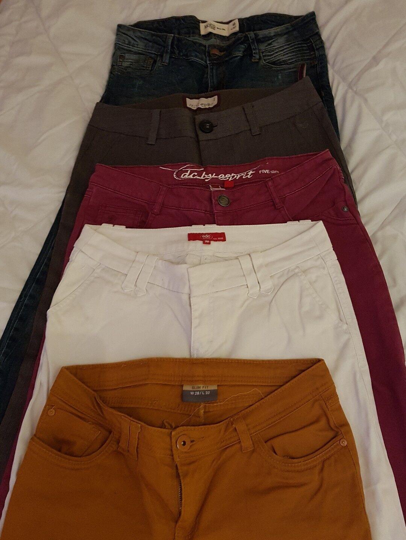 5x Damen Hosen davon 3x Edc by Esprit Gr. S 36