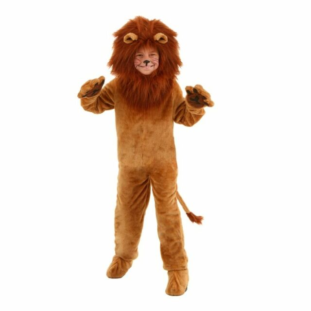 Cosplay Cowardly Lion Curly Wig Ears Wizard Of Oz Beard Halloween Costume HM-245