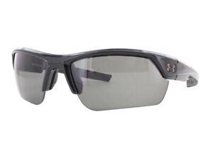 NEW-Under-Armour-Sunglasses-Igniter-2-0-Shiny-Black-Gray-Lenses-8600051-000100