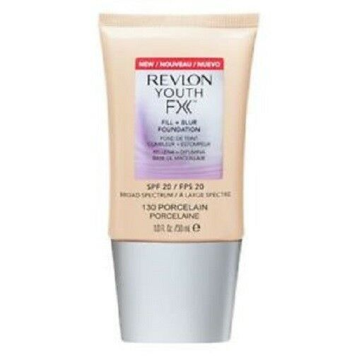 REVLON Youth FX Fill And Blur Foundation PORCELAIN 130 NEW