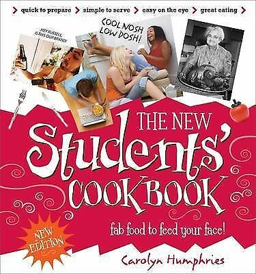 The New Students' Cook Book, Carolyn Humphries, Excellent Book